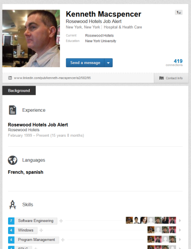 Beware: Scammers on LinkedIn